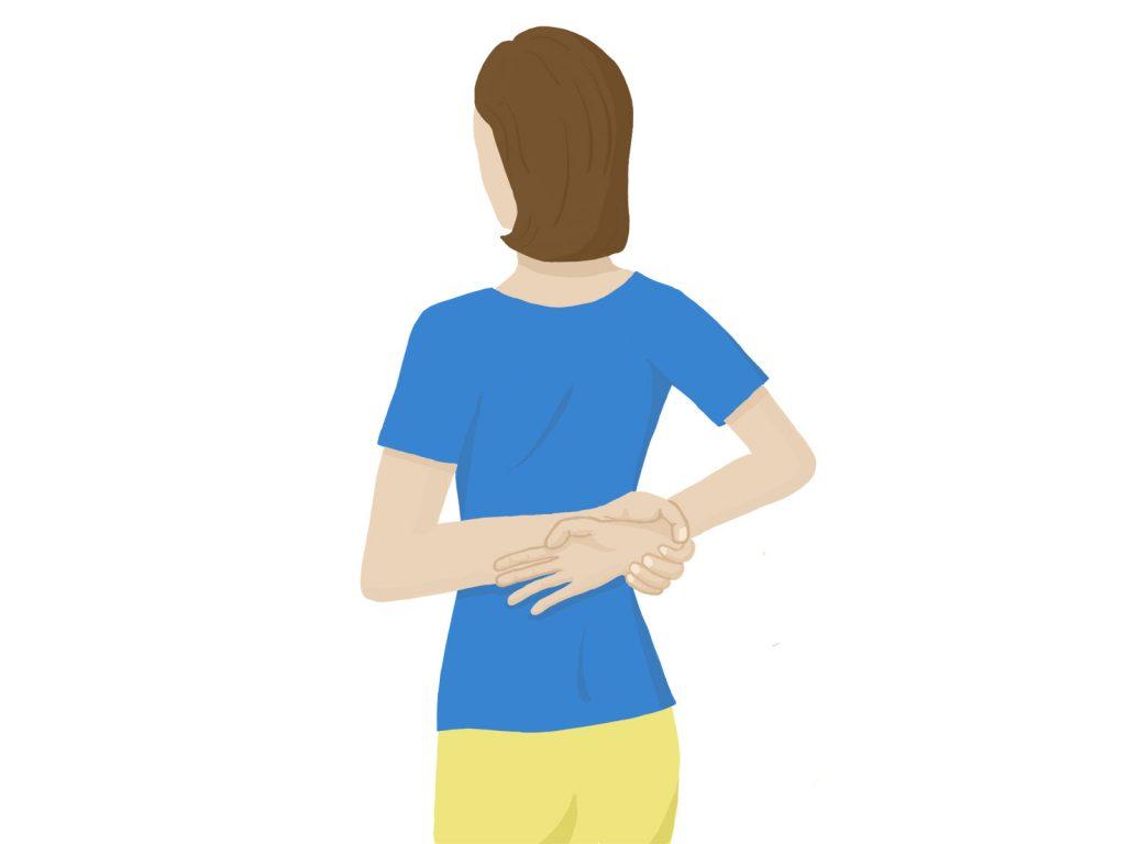 逆流性食道炎の咳対策3つ 3:猫背改善ストレッチ
