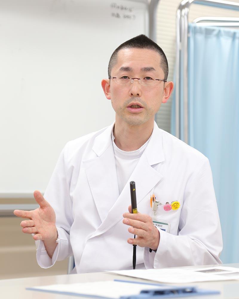 髙山先生インタビュー風景
